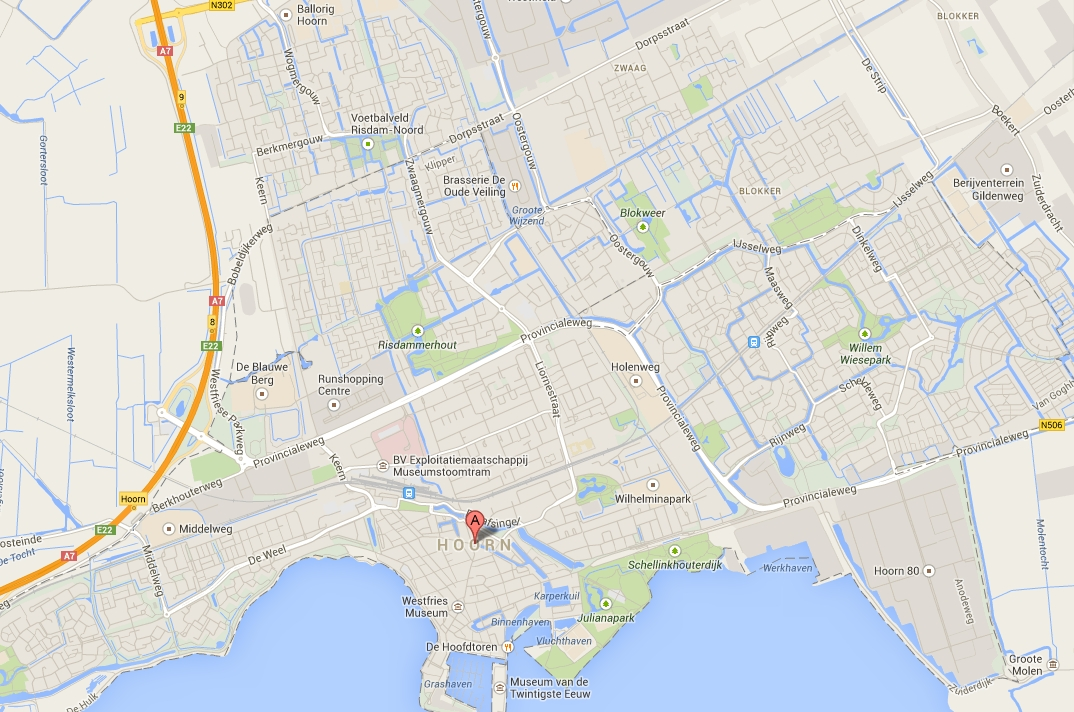 Locaties wijkenlopen Hoorn - Wijkenlopen in Hoorn