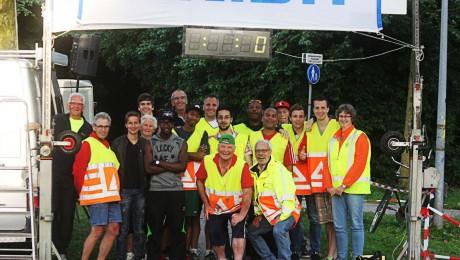 Wijkenlopen team 2014